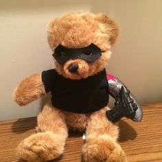 Plush Winter Soldier Edition Bucky Bear by sometimesyoufly on Etsy, $35.00  Will someone buy me this? PLEEEAASSEEE
