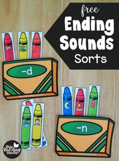 Are you working on ending sounds with your learner(s)? These crayon-themed ending sounds sorts are a part of my huge Crayon Box Phonics Set and is the perfect way to work on those ending sounds! *This post contains affiliate links. **The free download link can be found towards the END of this post. Just click …