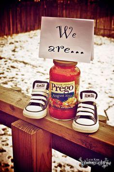 We are prego announcement!