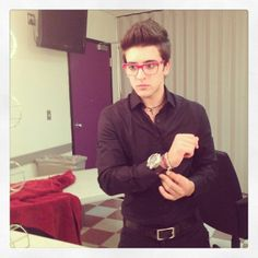 piero barone | Getting ready for the #show! #ilvolo ... | IL VOLO Piero Barone