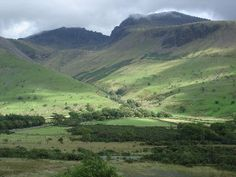 Sca Fell Pike, Lake District - Highest Mountain in England