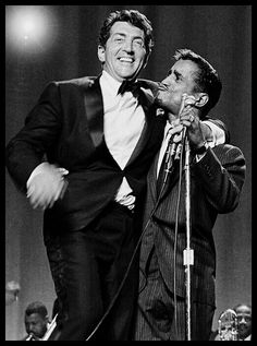 Dean and Sammy,1965. (The Original Sammy and Dean....Sammy Davis, Jr and Dean Martin)  :)