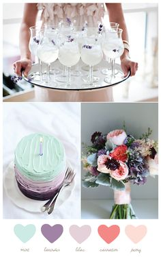 Mint + Lavender | The Sweetest Occasion