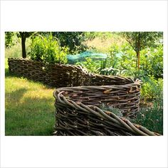 Someday I'll weave a fence from willow