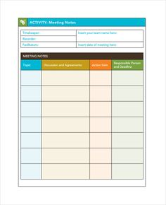 meeting notes template 28 free word pdf documents.html