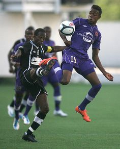 Orlando City forward Dennis Chin vies for the ball in the USL match between Orlando City and Antigua at the Citrus Bowl in Orlando, Fla. on Sunday, June 17, 2012.
