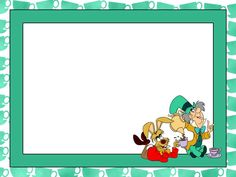 Journal Card - Wonderland - Hatter Style - tea party - 4x3 photo: A little 3x4inch journal card to brighten up your holiday scrapbook! Click on options - download to get the full size image (1200x900px).  Inspired by Disney's Alice in Wonderland. Clipart belongs to Disney. Cups from www.clker.com ~~~~~~~~~~~~~~~~~~~~~~~~~~~~~~~~~ This card is **Personal use only - NOT for sale/resale/profit** If you wish to use this on a blog/webpage please include credits AND link back to here. Thanks and…