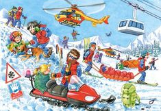 Mountain Rescues (70 pieces)