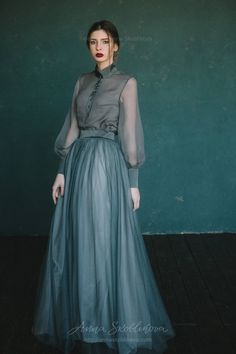 Green wedding dress, colored wedding dress, custom wedding dress, High Neck wedding dress, simple summer wedding dress - 0129 - Hochzeitskleider 0129 // 2017 Source by francesca_totti - Ball Dresses, Ball Gowns, Silk Dress, The Dress, Organza Dress, Silk Skirt, Dress Skirt, Green Wedding Dresses, Wedding Colors