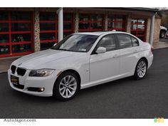 White BMW 3 Series future car, maybe? :)