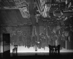 Upside Down Room Background 2