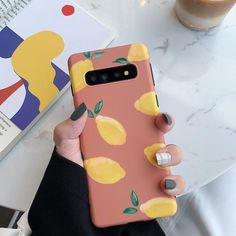 samsung wallpaper DCHZIUAN Girls Pink Fruit Phone Case For Samsung Galaxy Plus Note 8 Note 9 Cover For Samsung Plus Soft Case Outfit Accessories From Touchy Style. Whatsapp Samsung, Hd Samsung, Samsung Cases, Samsung Galaxy, Cell Phone Wallet, Iphone Phone, Galaxy Note 8 Phone, Pink Fruit, Aesthetic Phone Case