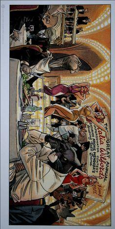 BLACKSAD John Blacksad es un detective privado que se enfrenta a un mundo sórdido y cruel como solo el género negro podría hacer. Una obra maestra de personajes atropomórficos  y pinceladas de color insuperables. GUARNIDO & CANALES