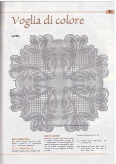 Scheme crochet no. 1190 | Kira scheme crochet