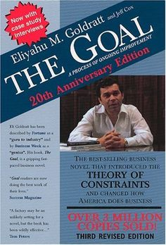 The Goal: A Process of Ongoing Improvement by Eliyahu M. Goldratt, http://www.amazon.com/dp/0884271781/ref=cm_sw_r_pi_dp_U8eLpb0XVHBBH