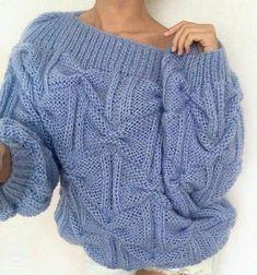 Puckered handknitted cable cardigan #knitting #cardigan Knitwear Fashion, Knit Fashion, Fashion Sewing, Sweater Knitting Patterns, Knitting Designs, Knitting Ideas, Cardigan Pattern, Sweater Cardigan, Cable Cardigan