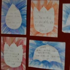 Spring poem display idea.  Love it! Teaching Phonics, Elementary Teaching, Teaching Writing, Teaching Ideas, Holiday Activities, Classroom Activities, Classroom Ideas, Kindergarten Poetry, Kindergarten Science