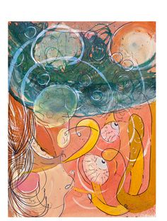 #24 acrylic on paper, 10.6 x 13.7 in, 2011