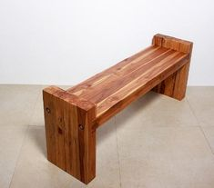 #Bench #Teak Block carved wood #Thai #Furniture $399.00