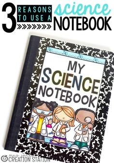 Getting little learners excited about science is easy with engaging  experiments and thematic units. Teaching them to collect and organize data like scientists is accomplished with a Science Notebook. Here are 3 reasons why using a Science Notebook with your learners can help your classroom and curriculum.  - Mrs. Jones' Creation Station #Science #TpT