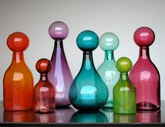 Image detail for -... pieces or perfume bottles in jewel tones to create beautiful vignettes