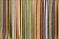1.8 Yards Robert Allen Big Surf Stripe Woven Polyester Outdoor Fabric in Multi