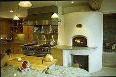 I would love to have a pizza oven in my house. I would have to put my own spin on it, maybe a more Tuscan style