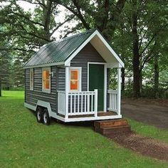 Available in several easily transportable sizes, the Tiny Green Cabin is a customizable steel- or wood-framed small home that includes myriad eco-friendly details: low-VOC paints, locally harvested lumber, and recycled denim insulation. Solar panels and composting or sawdust toilets are optional.