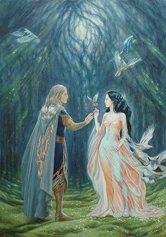 Elwe - Melian The Silmarillion