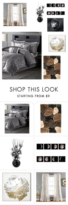 """Bedroom"" by natalusia85 on Polyvore featuring interior, interiors, interior design, home, home decor, interior decorating, Oliver Gal Artist Co., Tom Dixon and bedroom"