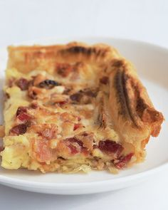 Like quiche, this savory dish has a custard filling; using frozen puff pastry instead of traditional pie dough makes it even simpler to prepare.