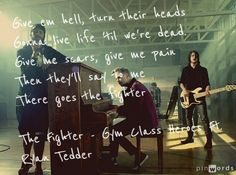 The fighter Gym Class Heroes ft. Ryan Tedder