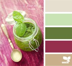 minted hues...Maybe for my bathroom? I already have some towels in the purple.