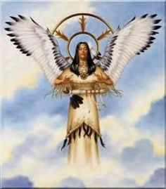 The Native American Angel American Indian Art, Native American History, Native American Indians, American Pride, Indian Pictures, Angel Pictures, Angels Among Us, Angels And Demons, Native Indian