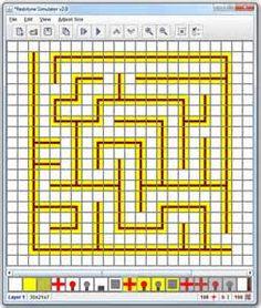 Minecraft Maze Blueprint