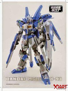 GUNDAM GUY: BANDAI MG162 RX-93 Hi-Nu Gundam - Custom Build