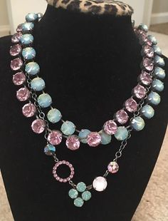 June 50% off La Vie En Rose and Youthful Heritage Manhattan Chokers with Story 2. Fresh Necklace..Chokers only $109.50 each in June while they last!! #sabika #tonisabikalove