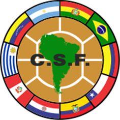 South American Football Federation logo.