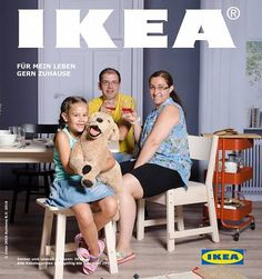 On Ikea cover