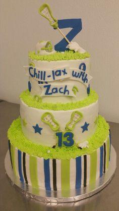 Lacrosse cake 2015