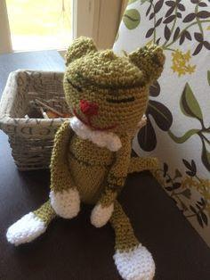 Au Crochet qui m'aille...: Le chat