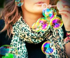 @Kristen Forner we should do something with bubbles....is that lame? lol