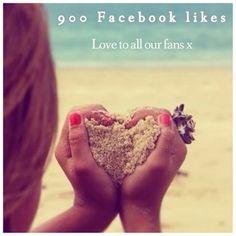 900 Facebook Likes
