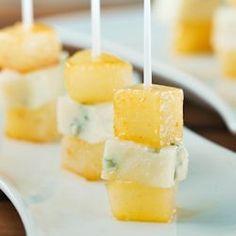 Pears with Honey & Gorgonzola