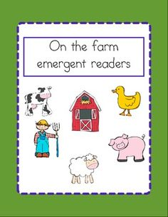 Farm emergent reader pack $3.00