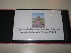 Personalized Scripture Memory Book!