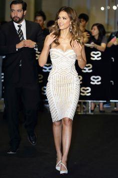 AFTER PARTY DRESS - Best Dressed Jessica Alba In Zuhair Murad - Derek Blasberg's Best-Dressed List - Harper's BAZAAR