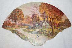 Vintage Fold-Out Paper Fan
