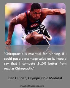 Chiropractic helps runners become more efficient in their gait!!! #runfaster…