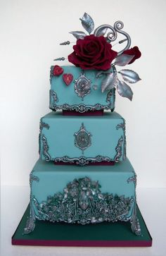 Bas relief wedding cake by lumipo